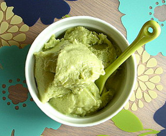 Avocado Frozen Yogurt