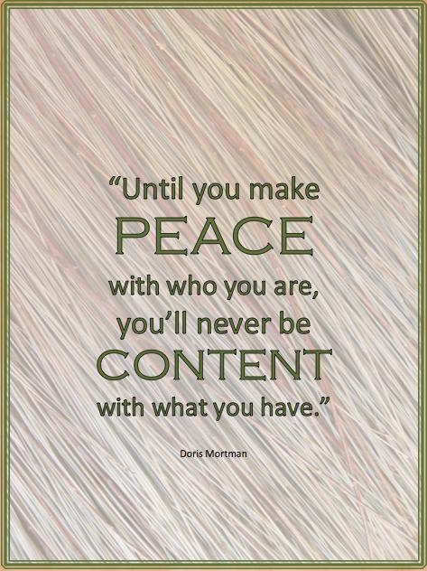 Make Peace quote