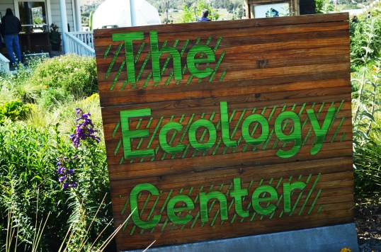 ecology center sign
